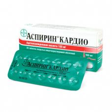Аспирин кардио 100мг N28 таб.
