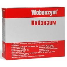 Вобэнзим  N100 табл. кишечнораств. п/о