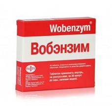 Вобэнзим  N40 табл. кишечнораств. п/о