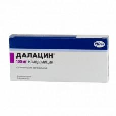 Далацин  супп. ваг. 100мг №3