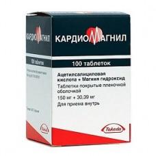Кардиомагнил  150 мг №100