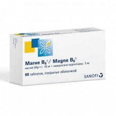 Магне B6 таблетки покрыт.об. 60 шт