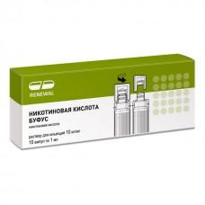 Никотиновая к-та буфус 1% - 1 мл N10