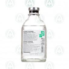 Натрия хлорид р-р д/инф 0,9% 400мл конт полиолефиновый КП-1