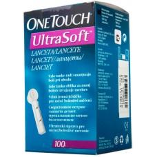 Ланцеты One Touch Ultra soft  №100