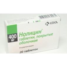 Нолицин  таб. п/о 400мг №20