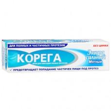 Корега экстра-сильный крем д/зубн. протезов 40мл мятный