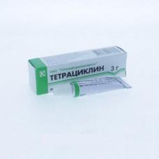 Тетрациклиновая мазь  туба 1% 3г (гл.)