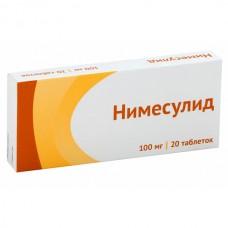 Нимесулид 100 мг таб. №20