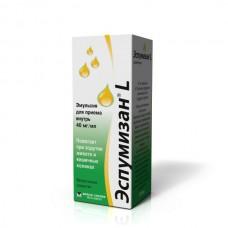Эспумизан L эмульсия 40 мг 30 мл. с пробкой-капельн.