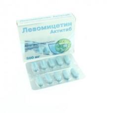 Левомицетин таб. п/о 500мг №10