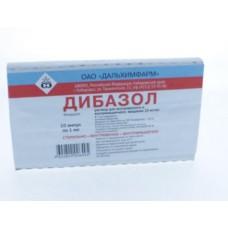 Дибазол  амп. 1% 1мл №10