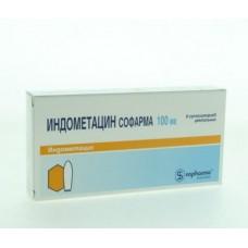 Индометацин  супп. 100мг №6