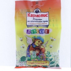 Кармолис  леденцы с медом и витамином С 75г (детские)