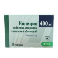 Нолицин  таб. п/о 400мг №10
