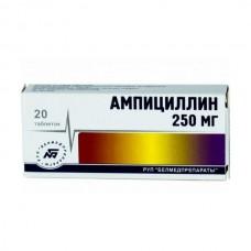 Ампициллина тригидрат  таб. 250мг №20