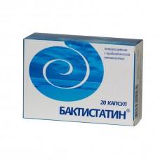 Бактистатин  капс. 500мг №20