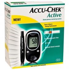 Глюкометр Accuchek Active (набор)  цифр. электронный