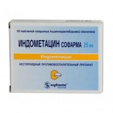 Индометацин  таб. 25мг №30