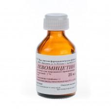 Левомицетин  р-р спирт. 1% 25мл