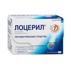 Лоцерил  фл. 2,5мл 5% р-р д/наруж. прим. (лак)