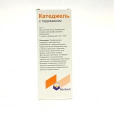 Катеджель гель  туба 12,5г с лидокаином №1 шприц-тюбик