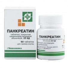Панкреатин   таб. п/о №60 (блист.)