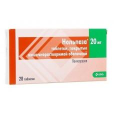 Нольпаза 0,02 №28 табл. п/о